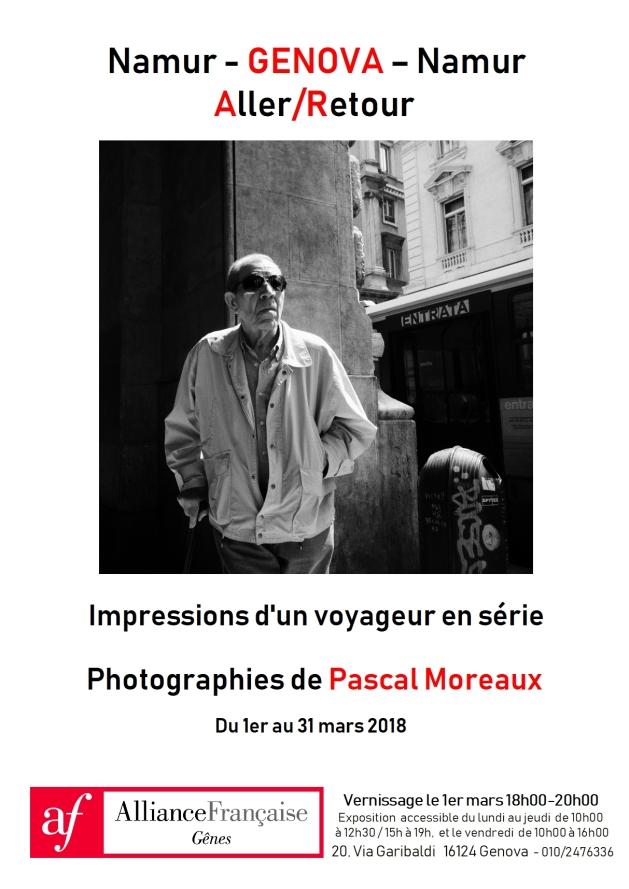 Affiche expo Mars 2018 Genova site